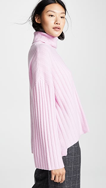 Milly Cashmere Oversized Sweater