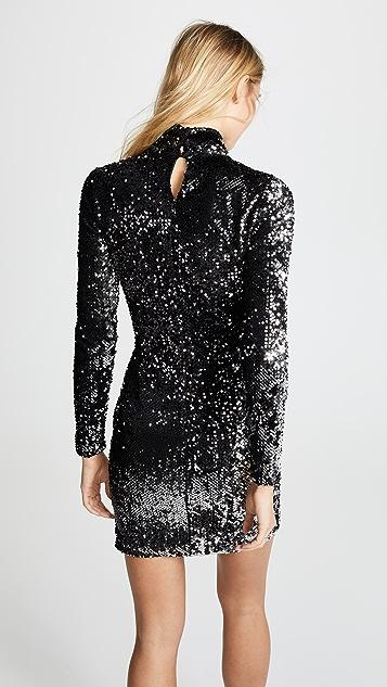Milly SequinTurtleneck Dress