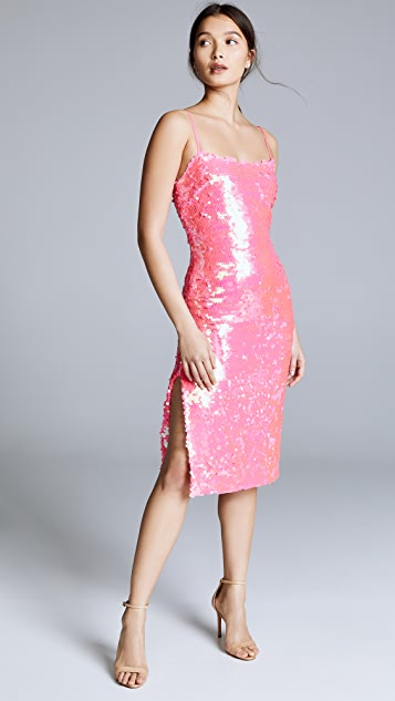 Milly Slip Sequin Dress
