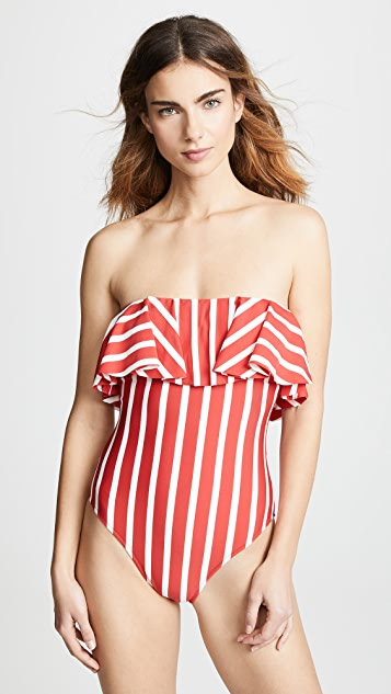 Milly Ruffle Tone One Piece Swimsuit