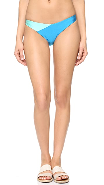MINKPINK Sea Splice Twist Cheeky Bottoms