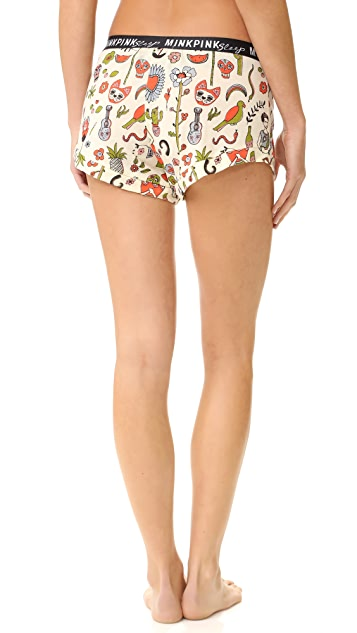 MINKPINK Siesta Fiesta Shorts