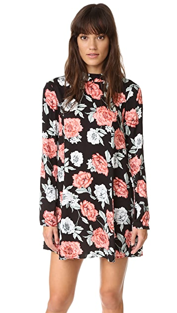 MINKPINK Garden Of Eden Tunic Dress