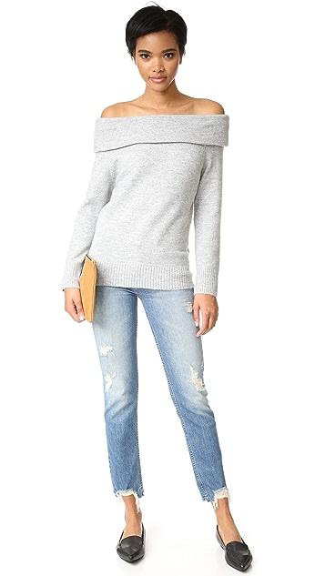 MINKPINK Sunder Off Shoulder Sweater