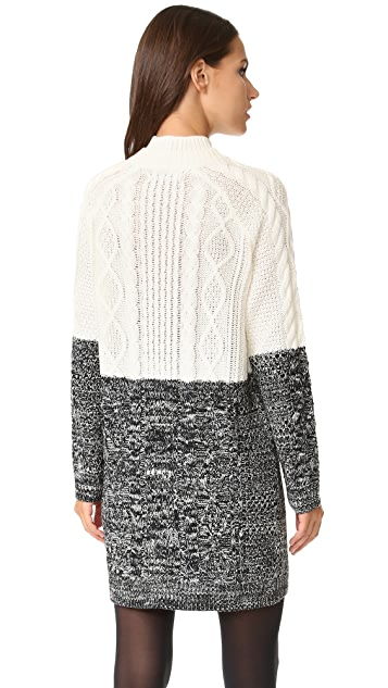 MINKPINK Two Faced Knit Dress