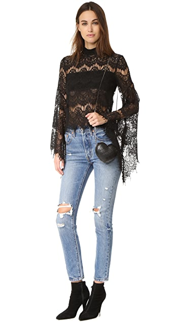 MINKPINK Drama Queen Lace Top