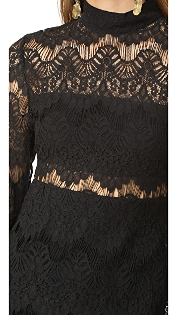 MINKPINK Drama Queen Lace Dress