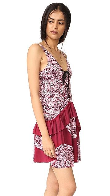 MINKPINK Mandala Wonder Lace Front Dress