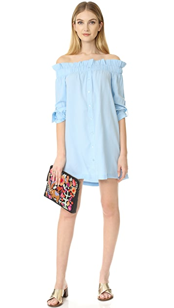 MINKPINK Business Class Off Shoulder Dress