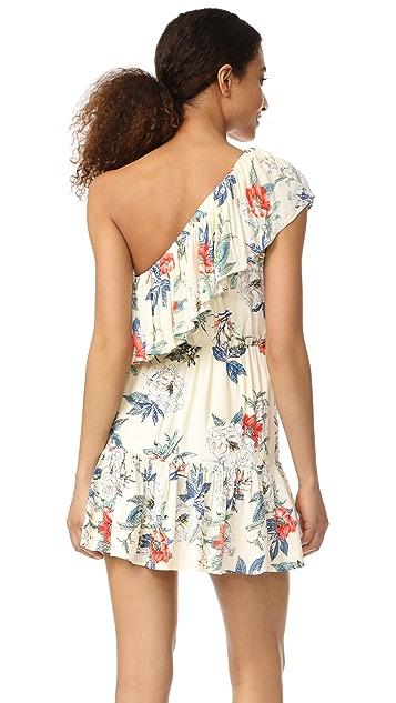 MINKPINK Garden Party One Shoulder Dress