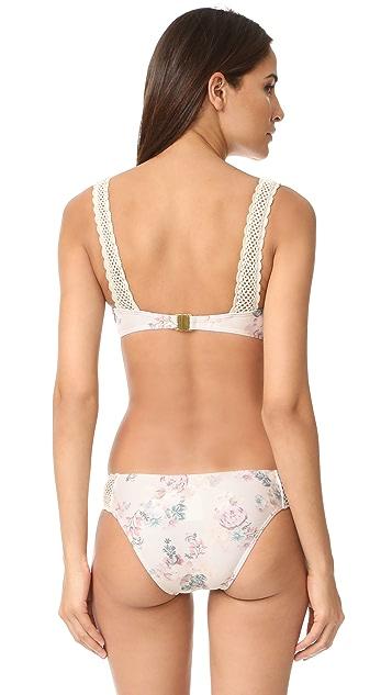 MINKPINK Secret Garden Bikini Top