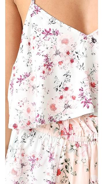MINKPINK Sherbet Floral Romper