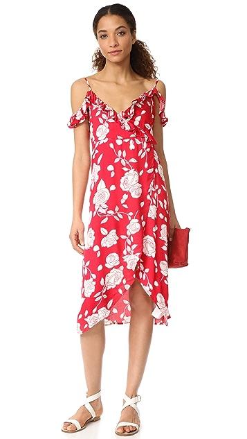 MINKPINK x Disney Enchanted Midi Wrap Dress