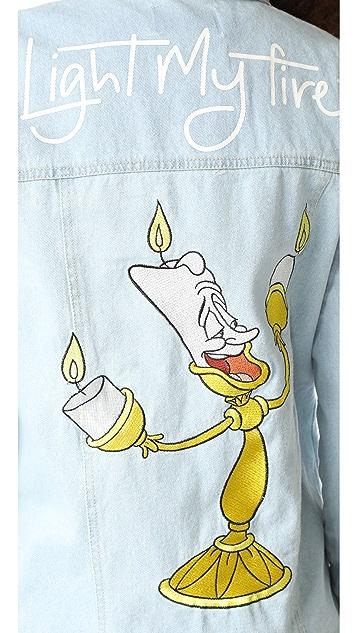 MINKPINK x Disney Light My Fire Denim Jacket