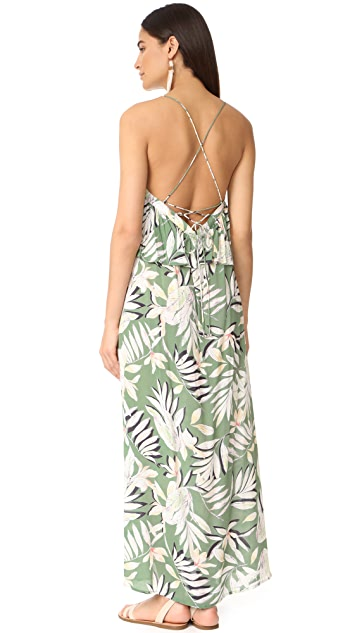 MINKPINK Shady Fronds Maxi Dress