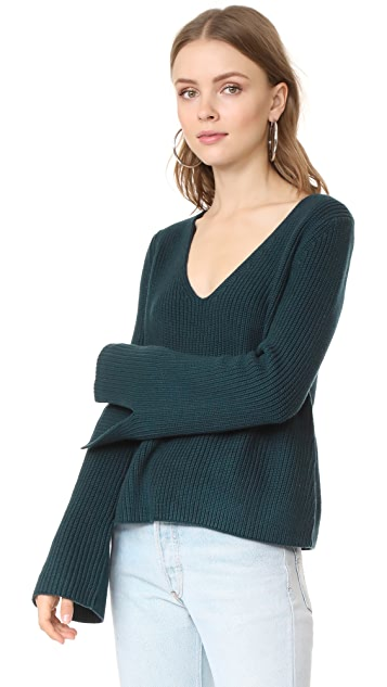 MINKPINK Mona Split Sleeve Sweater