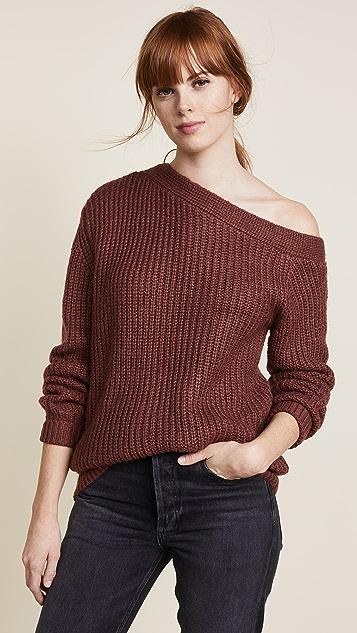 MINKPINK Asymmetrical Sweater