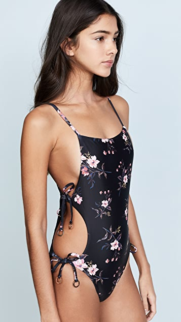 MINKPINK Jasmine Tie Side One Piece