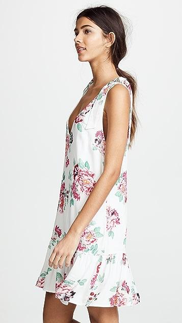 MINKPINK Pretty Petals Drop Waist Dress