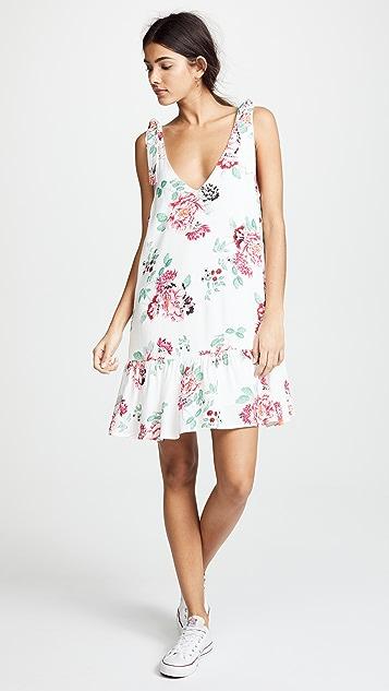MINKPINK Pretty Petals Drop Waist Dress - Multi