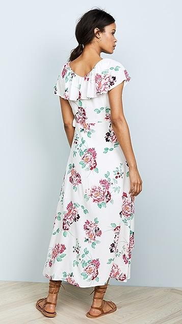 MINKPINK Pretty Petals Wrap Front Dress