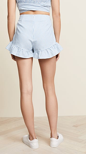 MINKPINK Toto Gingham Shorts