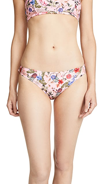 MINKPINK Aloha Frill Swim Bottoms