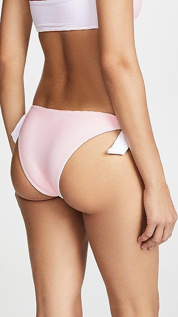 MINKPINK Gelato Reversible Tie Side Swim Bottoms