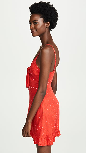 MINKPINK Santorini Tie Front Dress