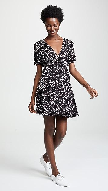 MINKPINK Ditsy Dots Wrap Dress