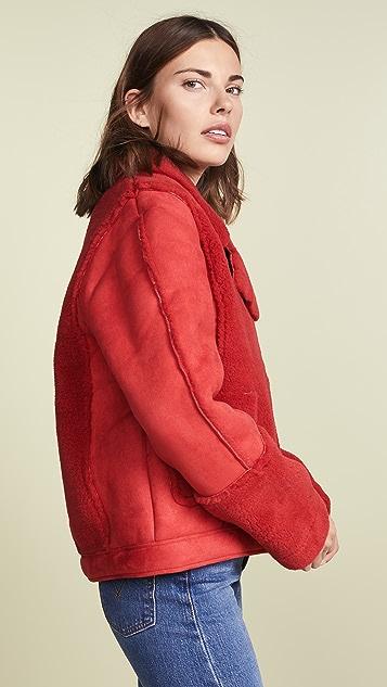 MINKPINK Alissa Sherpa Jacket