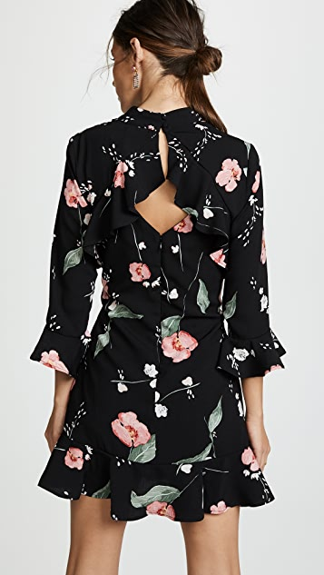 MINKPINK Floriana Cutout Back Dress