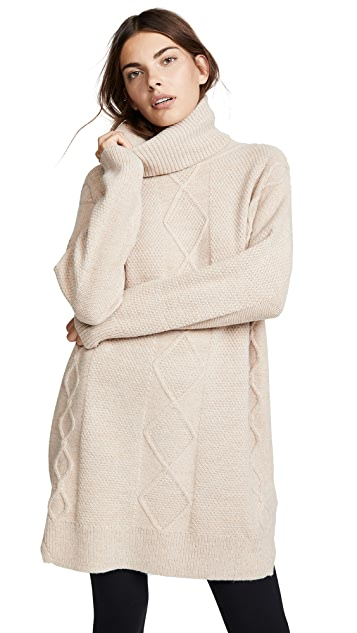 MINKPINK Lesley Cable Knit Tunic
