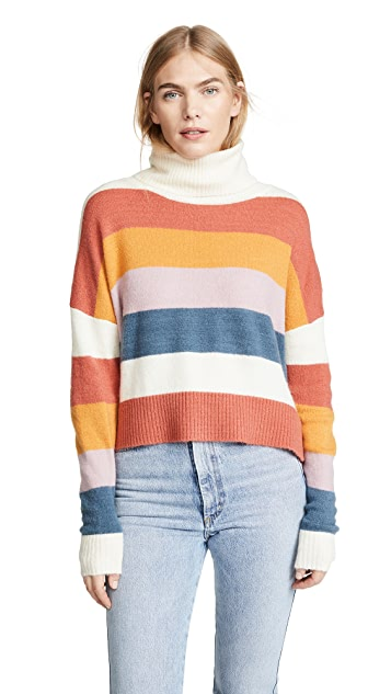 MINKPINK Colorblock Knit Sweater