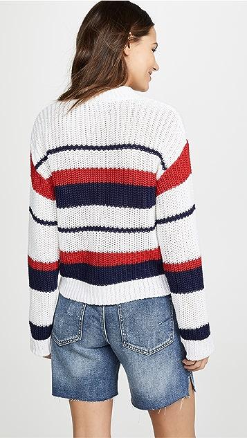 MINKPINK Sailor Stripe Knit Sweater