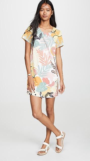 MINKPINK Футболка-платье с принтом в виде лимона