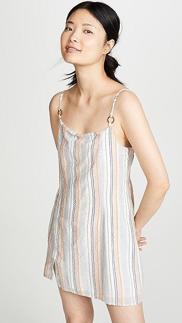 MINKPINK Mahi Step Hem Mini Dress