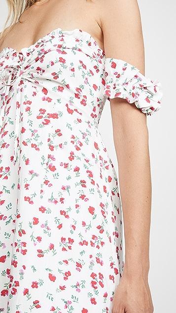 MINKPINK Burma Bloom Mini Dress