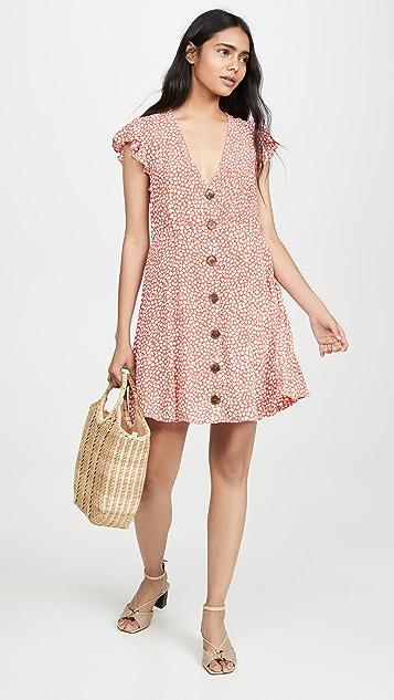 MINKPINK Tiny Bloom Mini Dress