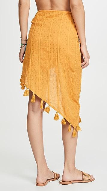 MINKPINK Shady Sarong Skirt