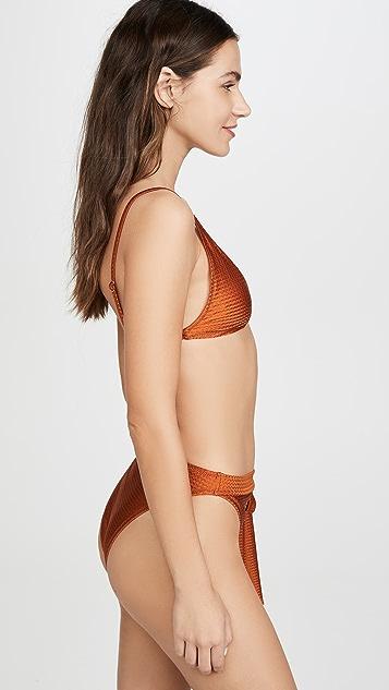 MINKPINK Sun & Earth Bikini Top
