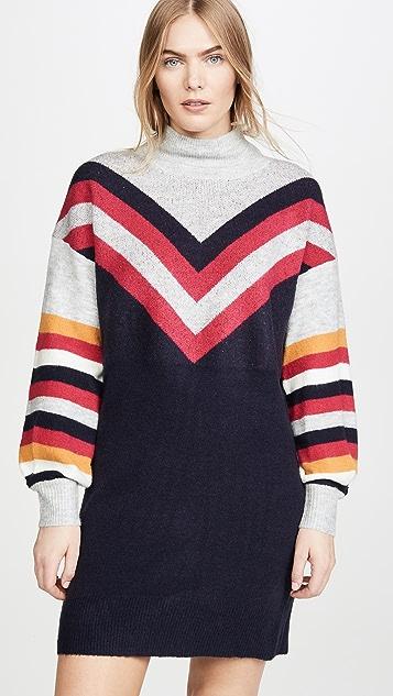 MINKPINK Stripe Me Up Sweater Dress