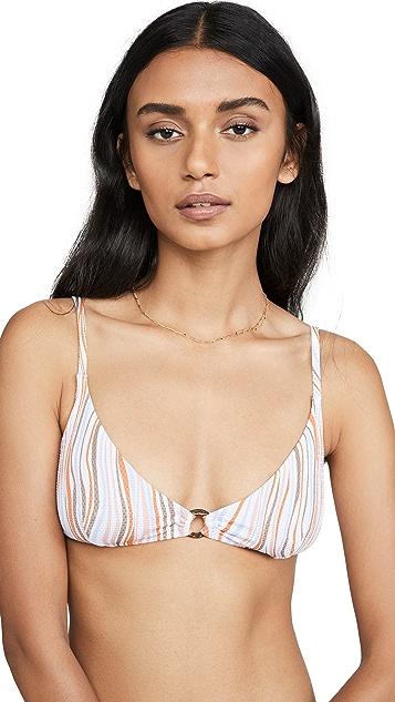 MINKPINK Waverly Scoop Bikini Top