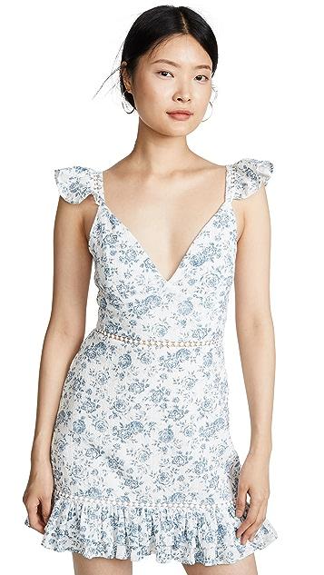 MINKPINK Sky Rose Mini Dress