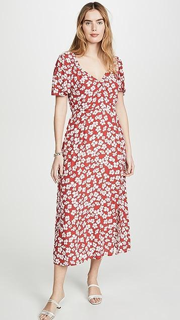 MINKPINK Between You And I Midi Dress