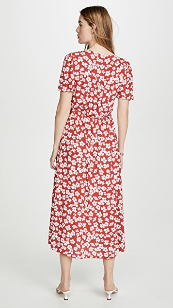 MINKPINK Between You And I Midi Dress
