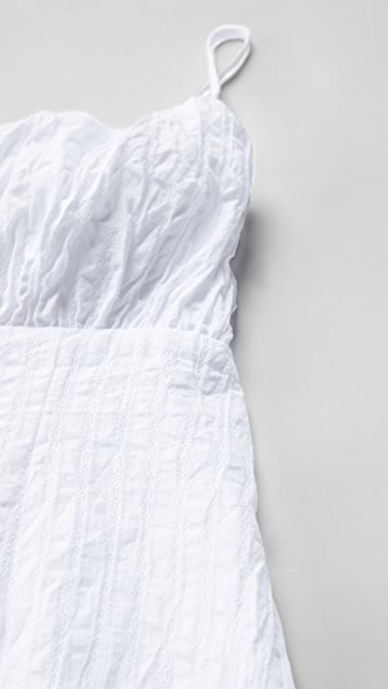 MINKPINK 心形系带迷你连衣裙