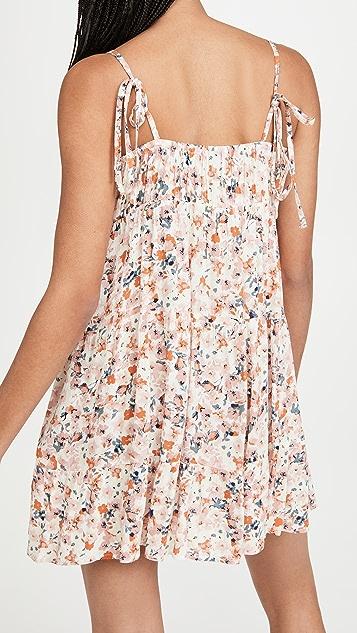MINKPINK Samaria Sun Tiered Mini Dress