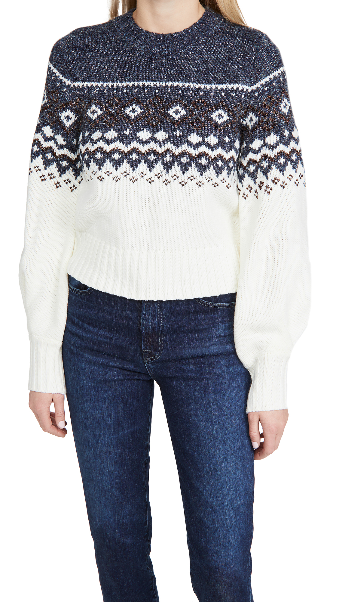 MINKPINK Solstice Fair Isle Sweater