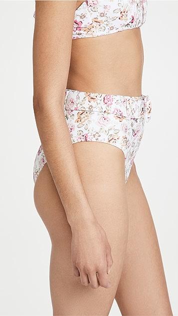 MINKPINK Cecile 系腰带比基尼泳裤
